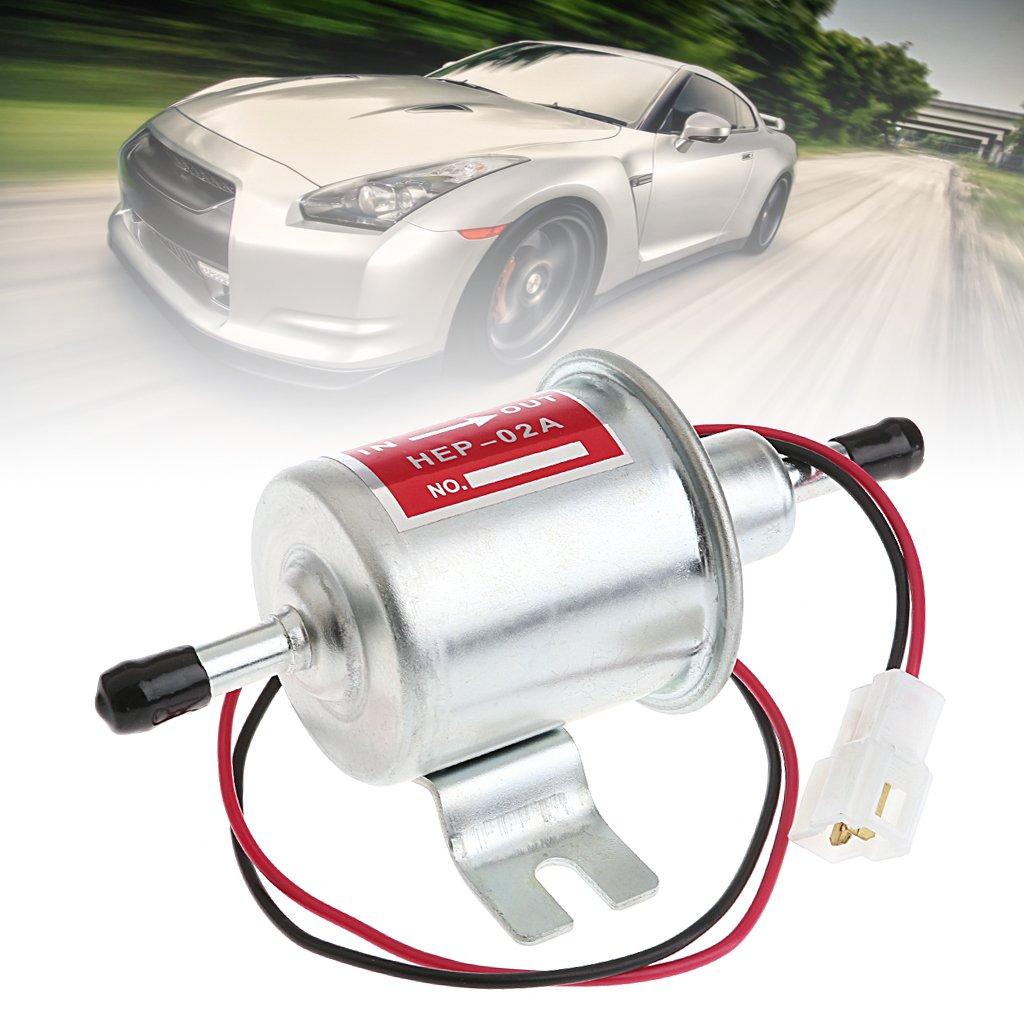 siwetg Universal 12V Benzin Benzinpumpe HEP-02A Niederdruck