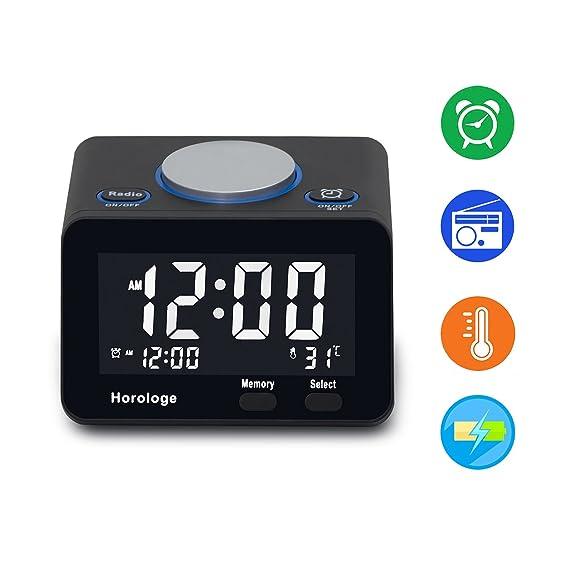 Review USB Alarm Clock, Digital