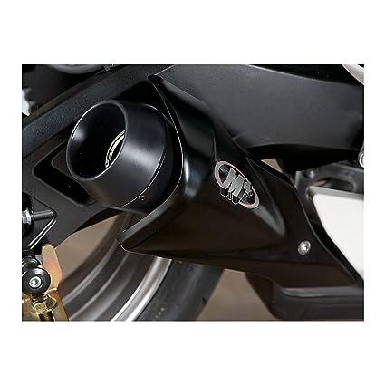 11-16 SUZUKI GSXR600 & 750: M4 GP Series Slip-On Exhaust - Black (BLACK)