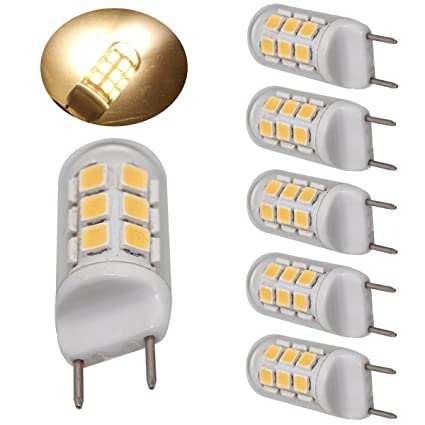Ulight G8 Led Bulbs Dimmable 35W 40W 45W Halogen Bulbs Replacement 400  Lumens, Jcd G8