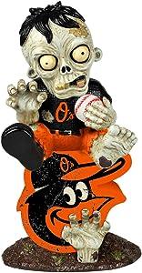 FOCO MLB Baltimore Orioles Sitting On Logo Zombie