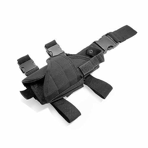 Cisno Drop Leg Adjustable Right Handed Thigh Pistol Gun Holster