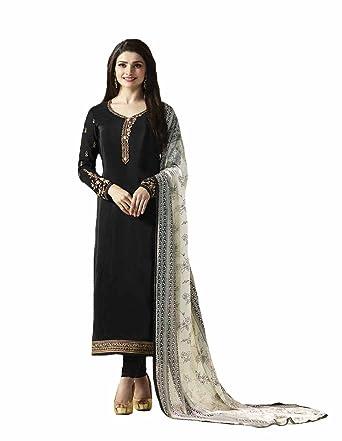 8e98b87b1e Amazon.com: stylishfashion Indian/Pakistani Fashion Salwar Kameez for Women  Shalwar Kameez Suit Casual Wear: Clothing