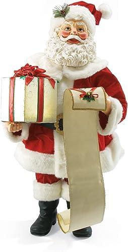 Department 56 Possible Dreams Bright Holiday Santa, 39 inch