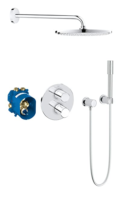 Grohe Grohtherm 3000 Cosmopolitan Concealed Shower Set Cover ...