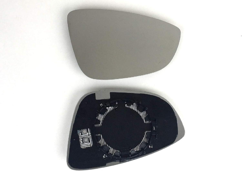 Espejo retrovisor derecho calefactable adecuado para espejo exterior el/éctrico y manual.