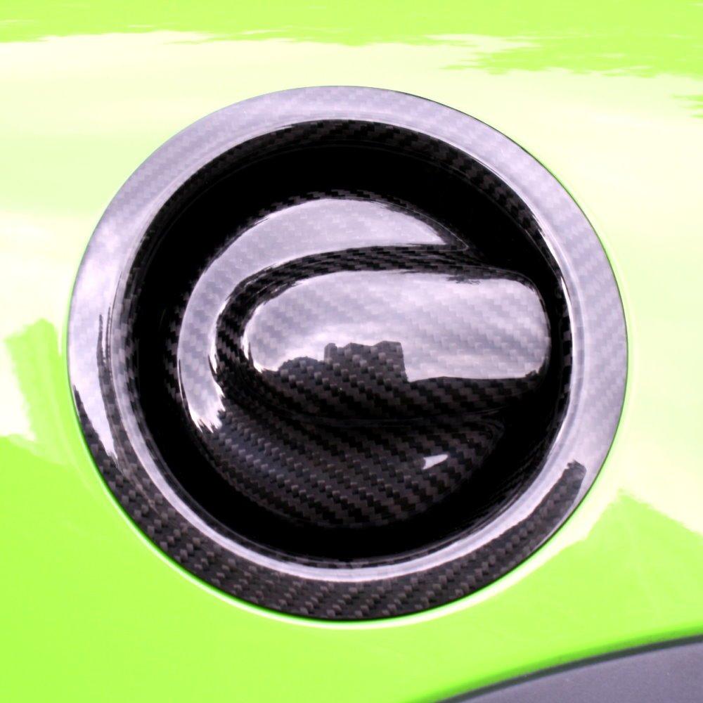 BAR Autotech  Decorative Carbon Fiber Fuel Tank Cap Gas Cover Rim for Mini Cooper 2007~2013 R56 S