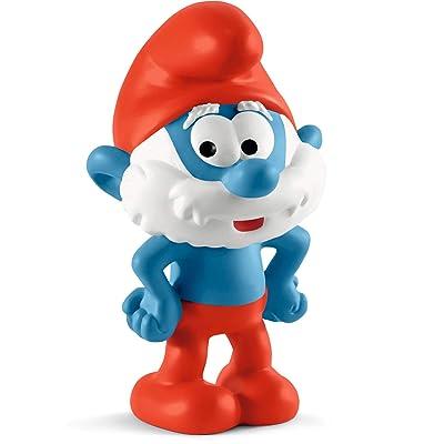 SCHLEICH 20814 Papa Smurf: Toys & Games