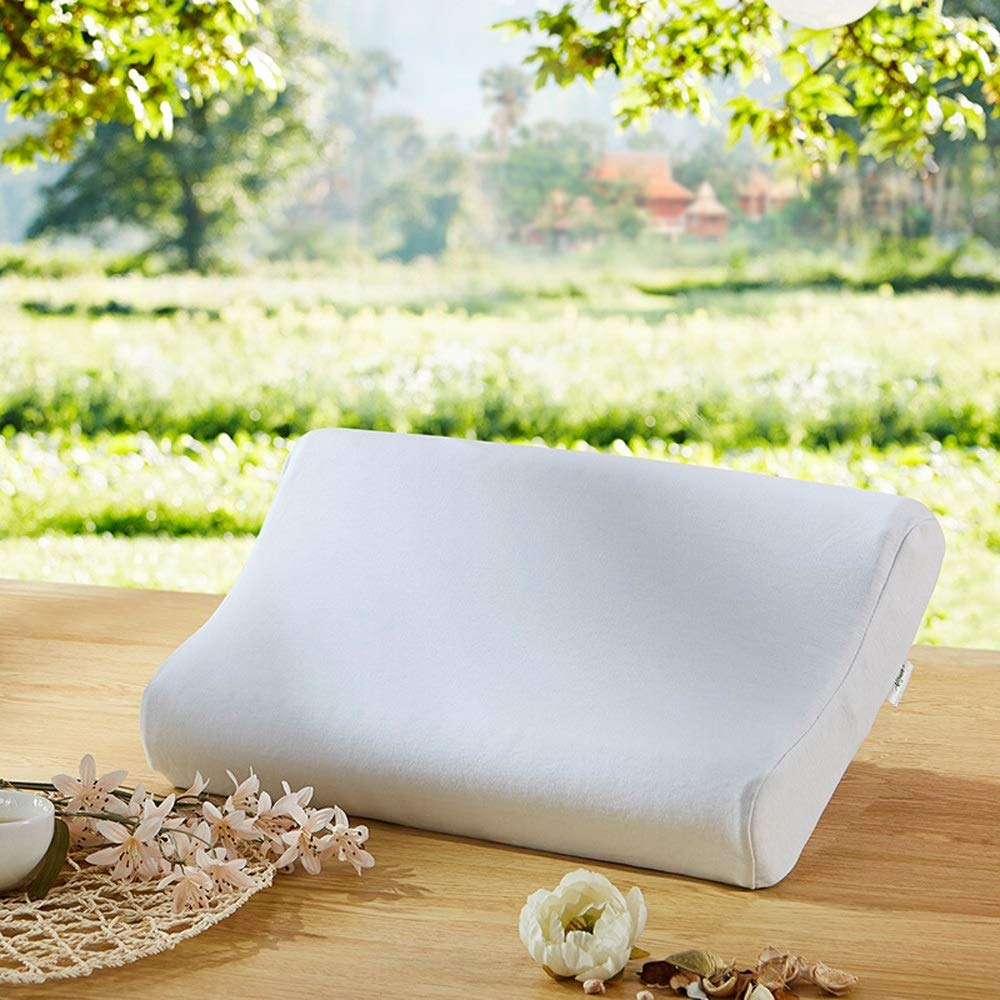 WTGG-Home Textile Latex Pillow - Single-Person Cervical Vertebra Latex Pillow Single Pillow Soft and Comfortable Sleeping Thai Latex Pillow /& by WYGG (Image #2)