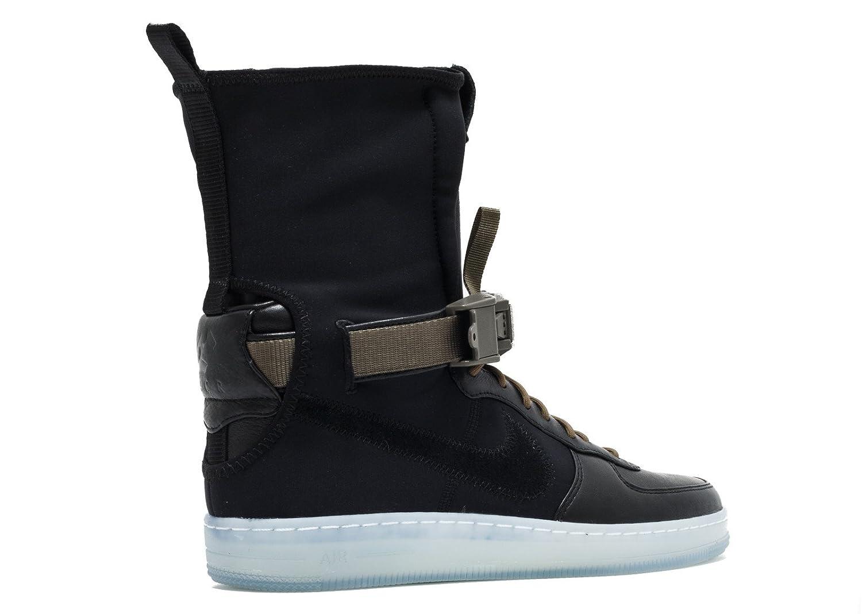 the best attitude 4ef04 20a2e Amazon.com | Nike Mens AF1 Downtown Hi SP Acronym Black ...