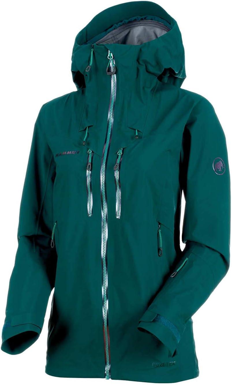Mammut Alvier HS Hooded Women's Jacket teal Medium