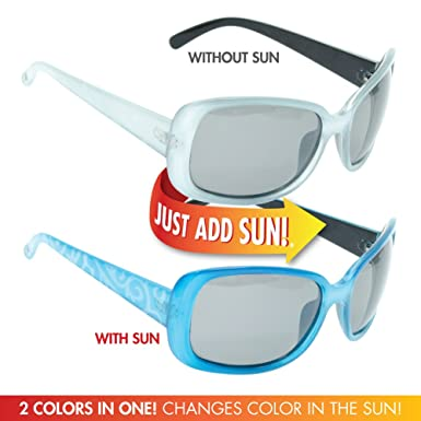 f55aa90258 Amazon.com  Solize Color-Changing Polarized Sunglass by Del Sol ...