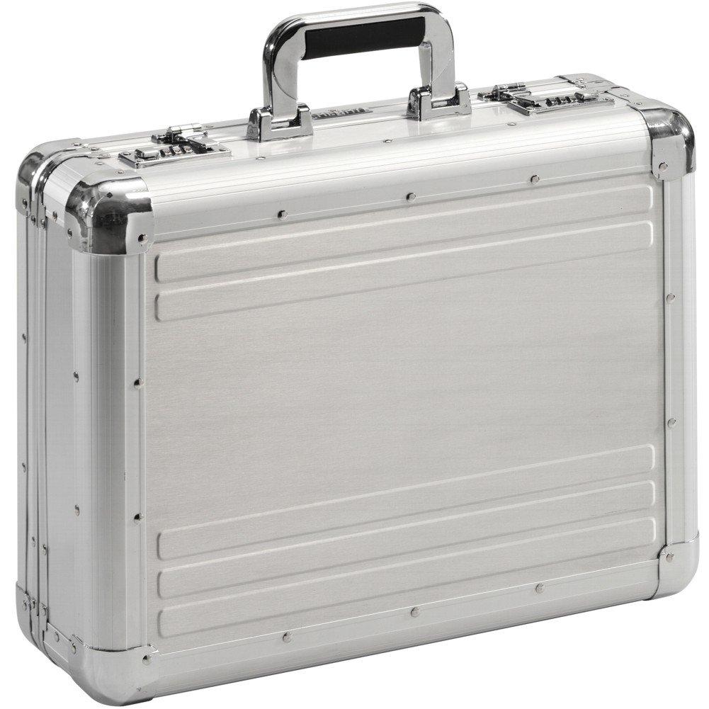 Aktenkoffer Alu Aluminium Attaché-Koffer Mit Zahlenschloss Diplomtenkoffer XL