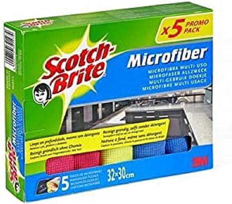 Scotch Brite Mikrofaser Reinigungstuch Premium 5 Stück Küche Haushalt