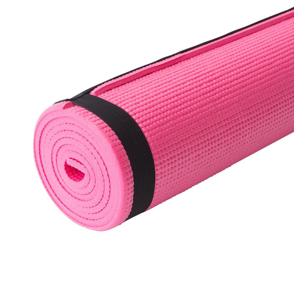 Amazon.com: Zone entrenamiento 6 mm. ejercicio y esterilla ...