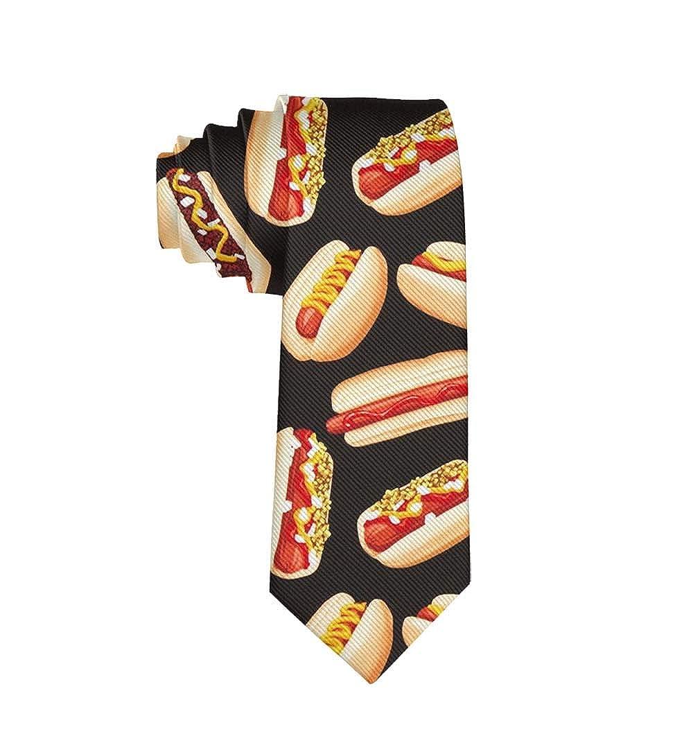 Boys Fashion 3D Printed Mens Ties Neckties Gift for Men Teens