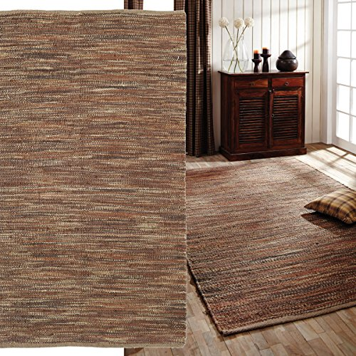 Prescott-Brown-Tan-and-Orange-Jute-and-Hemp-Rectangle-Area-Rug