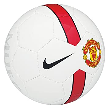 brand new 2fd83 4557e Buy Nike Man Utd Supporters Ball (White Black Red) Online at Low Prices in  India - Amazon.in