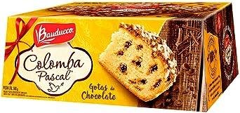 Colomba Pascal Gotas de Chocolate 500g - Bauducco: Amazon.com.br: Alimentos e Bebidas