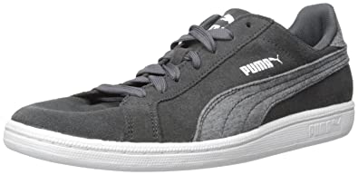 PUMA Men's Smash Jersey Fashion Sneaker, Asphalt White, ...