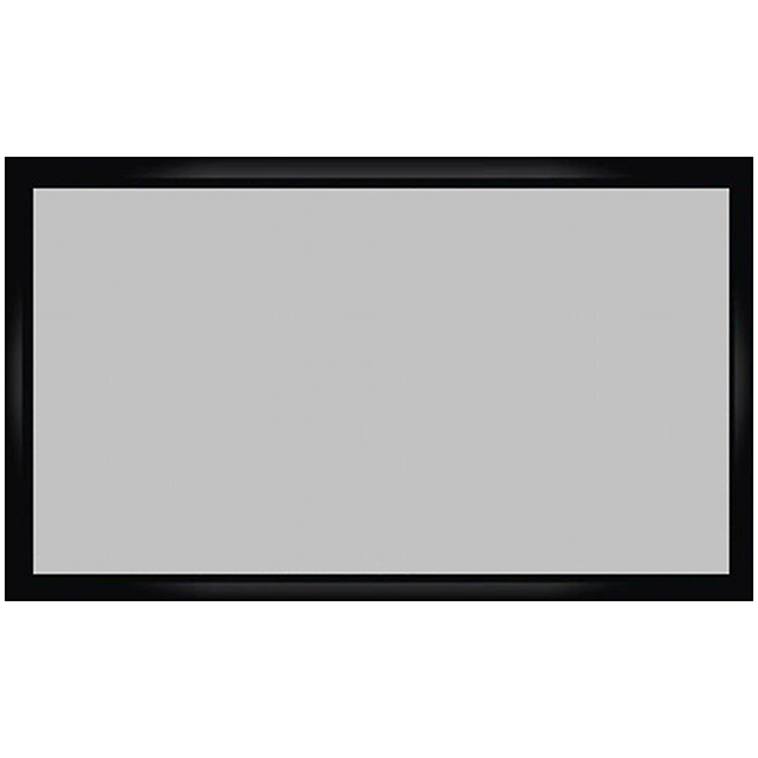 Antra 16:9 Fixed Projector Projection Screen (6-PC Frame) PVC Material 3D HD Compatible for Home Theatre Office Presentation (16:9 92', Matt Grey) PSF-92JAG