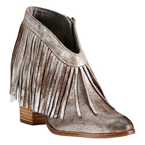 Ariat Womens Sfrenato Layla Western Fashion Boot, Sabbia, 9 B Us Metallic