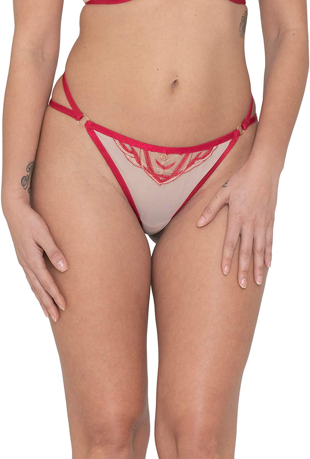 Curvy Kate Scantilly Submission String Latte//rouge