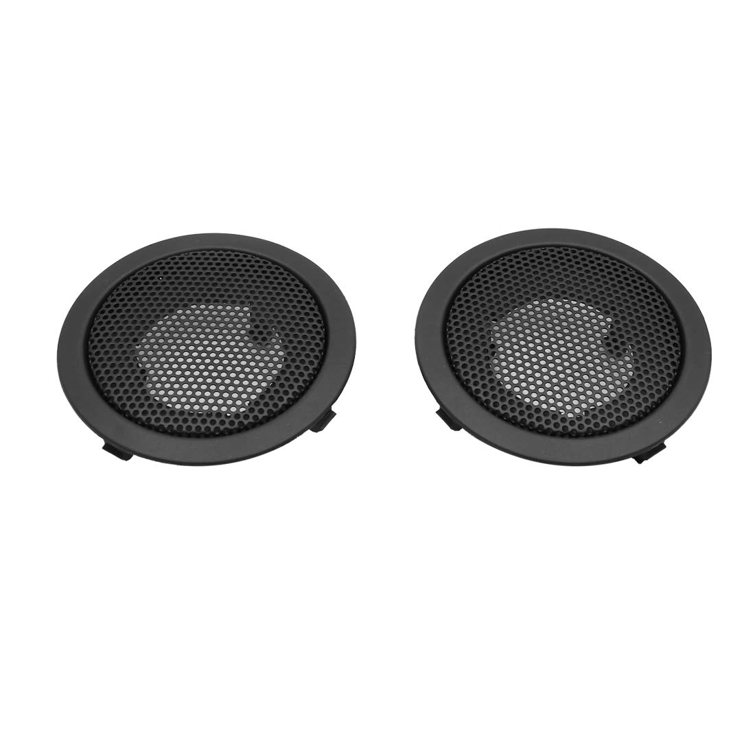 uxcell Pair Black Car Speaker Trim Cover Tweeter Protector for 2009-2013 Toyota RAV4