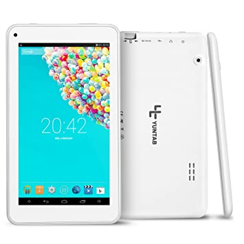 e5694f5894e96 Yuntab 7 Inch Tablet PC T7 quad core Pad Google Android 4.4 RAM 512M ROM 8G  External 3G Wifi CPU Allwinner A33 Dual Camera ...