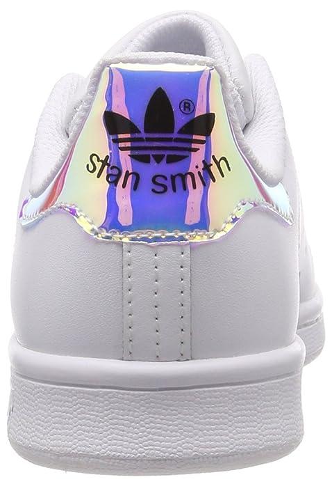 le dernier 33136 efb23 adidas AQ6272 Stan Smith J, Basket Mixte Enfant
