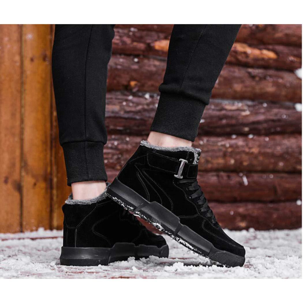 Zxcer Winter Plus samt warme Schuhe koreanische Sportschuhe Herren hoch explosionen hoch Herren zu helfen Martin Stiefel Werkzeug Flut Schuhe Casual Schuhe 31584d