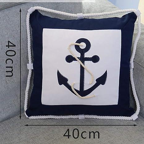 RUYII Mar Navegación Timón Barco Al Aire Libre Cojines ...