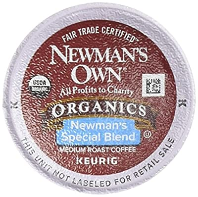 Newman's Own Organic Newman's Special Blend Coffee, K-Cup Portion Pack for Keurig K-Cup Brewers, 12-Count (Pack of 2)