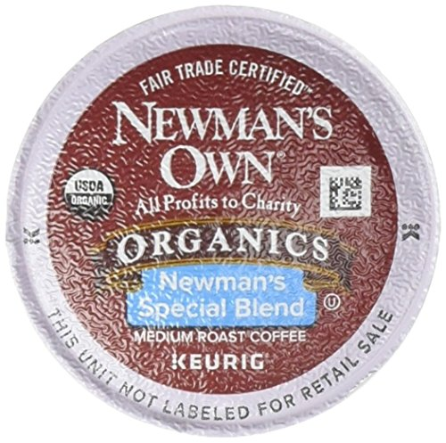 - Newman's Own Organic Newman's Special Blend Coffee,  K-Cup Portion Pack for Keurig K-Cup Brewers, 12-Count (Pack of 2)