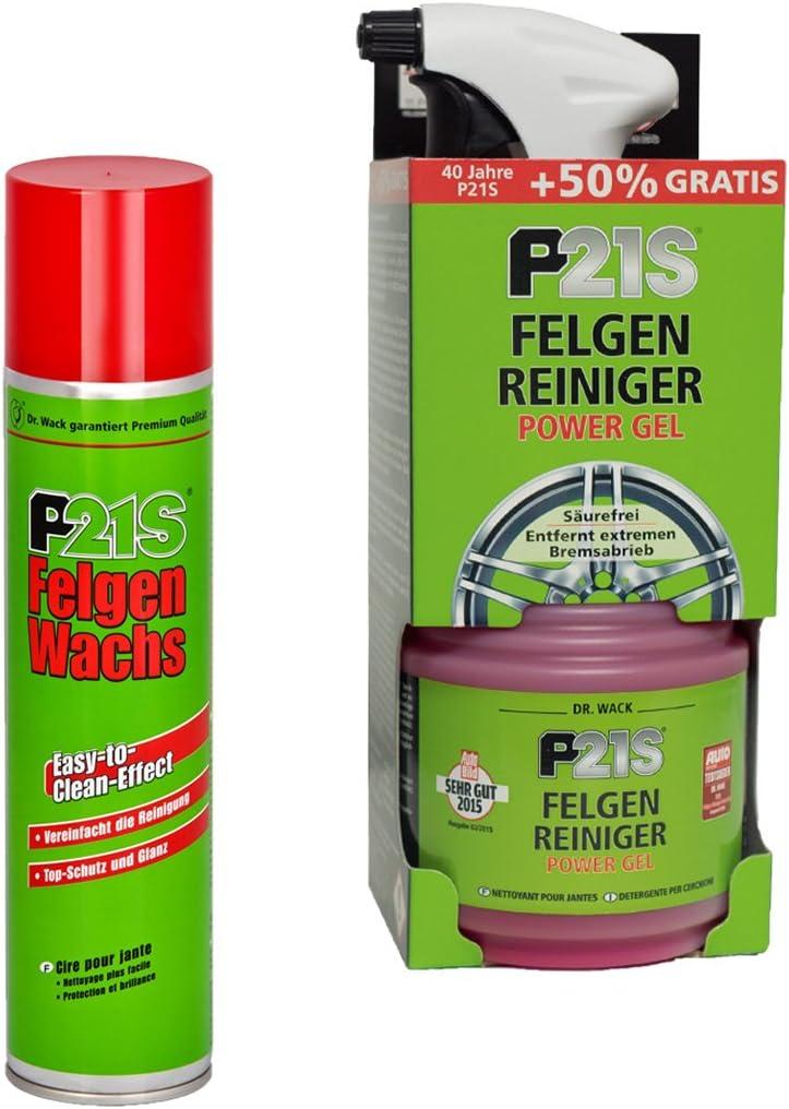 DR. WACK_bundle FELGENWACHS FELGENPFLEGE + FELGENREINIGER Power Gel REINIGUNGSSET PFLEGESET: Amazon.de: Auto -