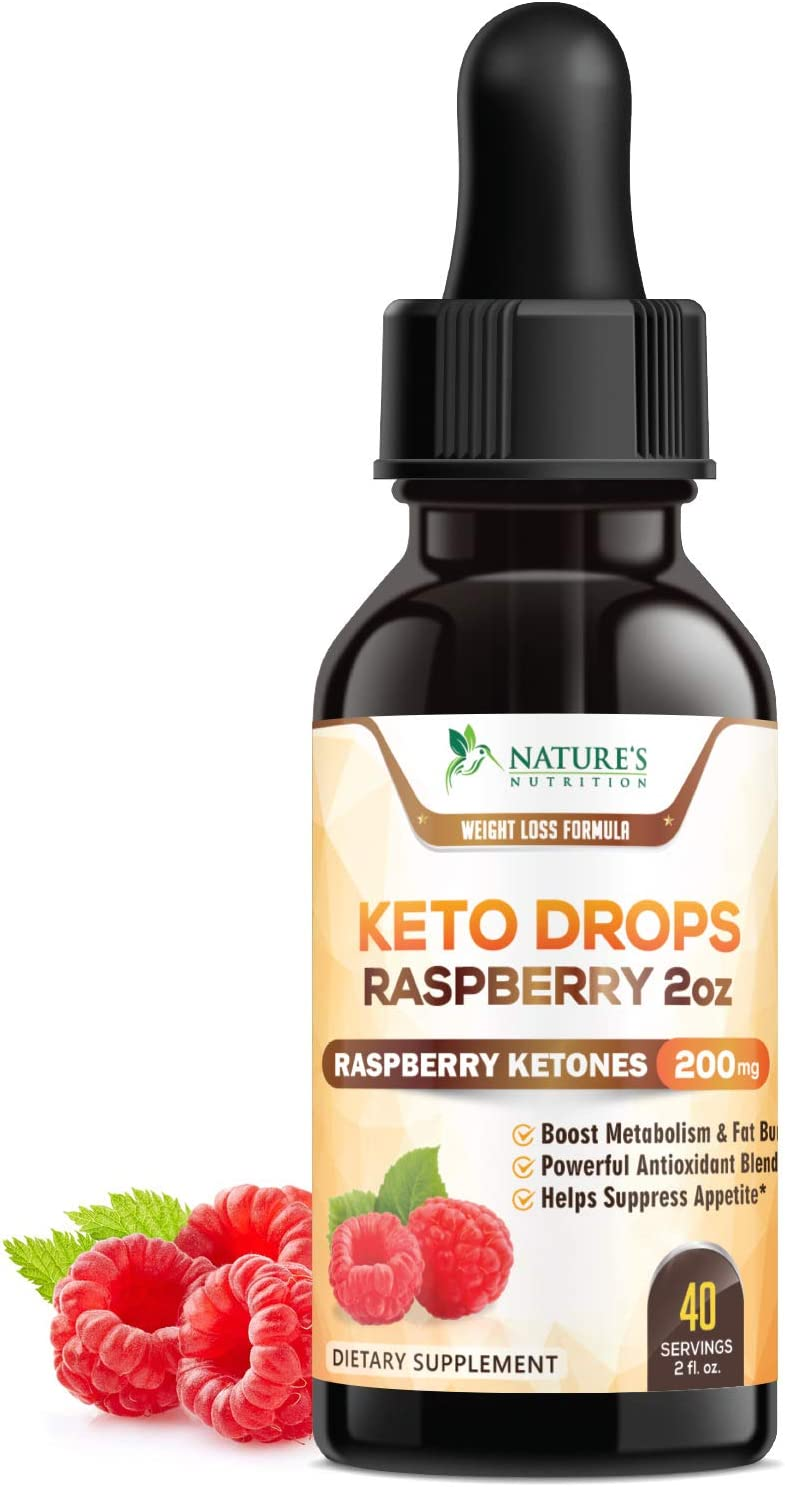 Amazon Com Keto Ketone Drops Extra Strength Raspberry Ketones Thermogenic Weight Support W African Mango Garcinia Supports Natural Weight Ketosis Diet Supplement Metabolism Support 2 Oz Bottle Health Personal Care