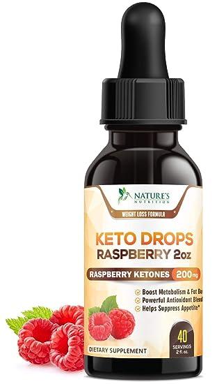 Amazon.com: Keto Ketone Drops Max Potency cetonas de ...