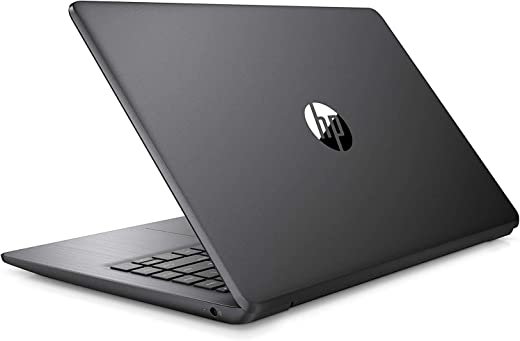 "2021 HP Stream 14"" HD Thin and Light Laptop, Intel Celeron N4000 Processor, 4GB RAM, 64GB eMMC, HDMI, Webcam, WiFi, Bluetooth, 1 Year Microsoft 365, Windows 10 S, Brilliant Black, W/ IFT Accessories"