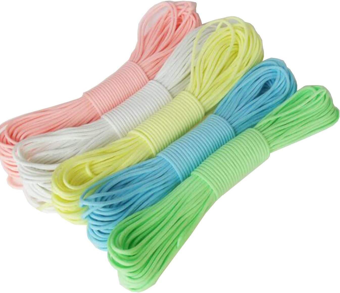 UOOOM Lot de Corde de Nylon et Multifonction Fermoirs /à clip pour DIY Corde de Parachute Paracorde Bracelet Style A