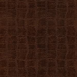 Brewster 412-56905 20.5-Inch by 396-Inch Leather Textured Depth Wallpaper, Brown by Brewster Wallcovering--DROPSHIP
