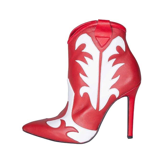 Zapatos de Punta con tacón Alto, Talla 37, de Piel auténtica ...