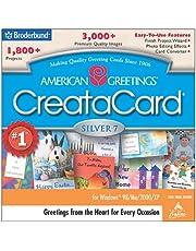 American Greetings CreataCard Silver 7 (Jewel Case)