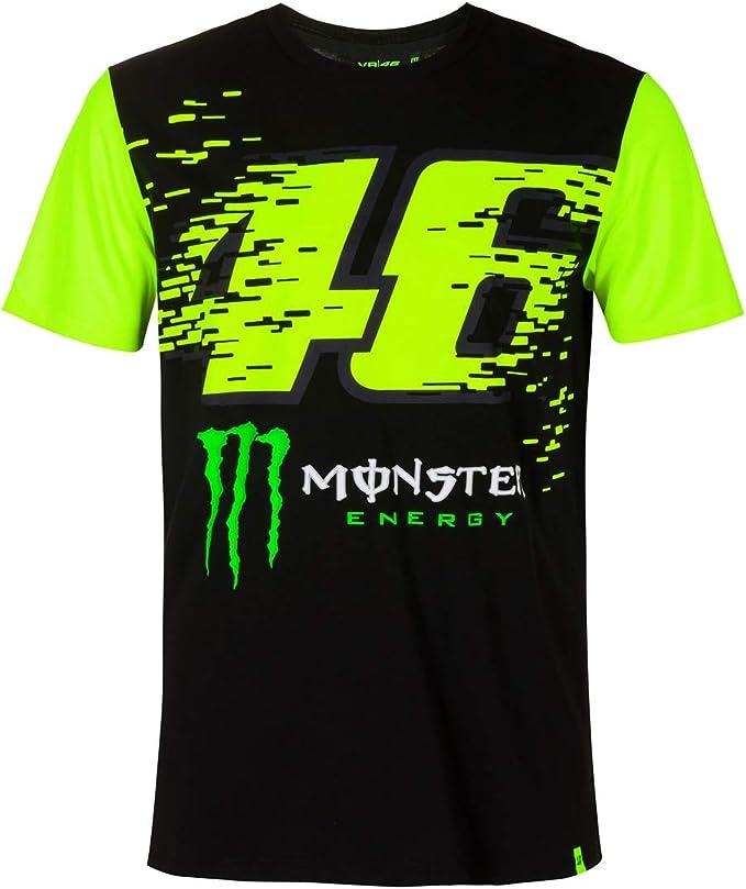 Valentino Rossi T Shirt Monza Black 2x Fanergy Grape Sugar Bekleidung