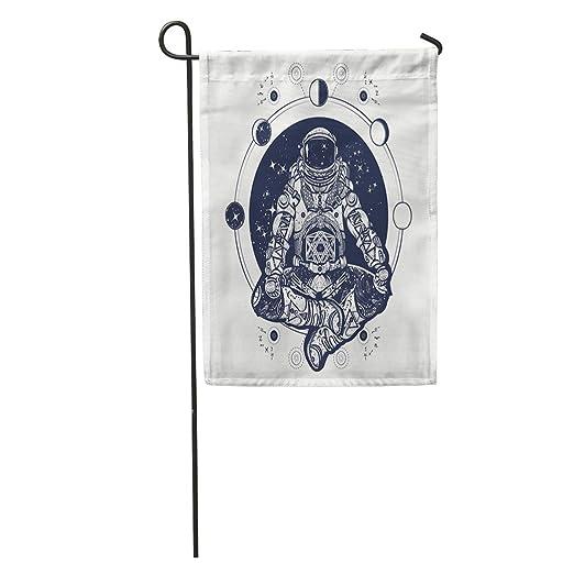 Semtomn Banderas de jardín variación Principal Astronauta en la ...