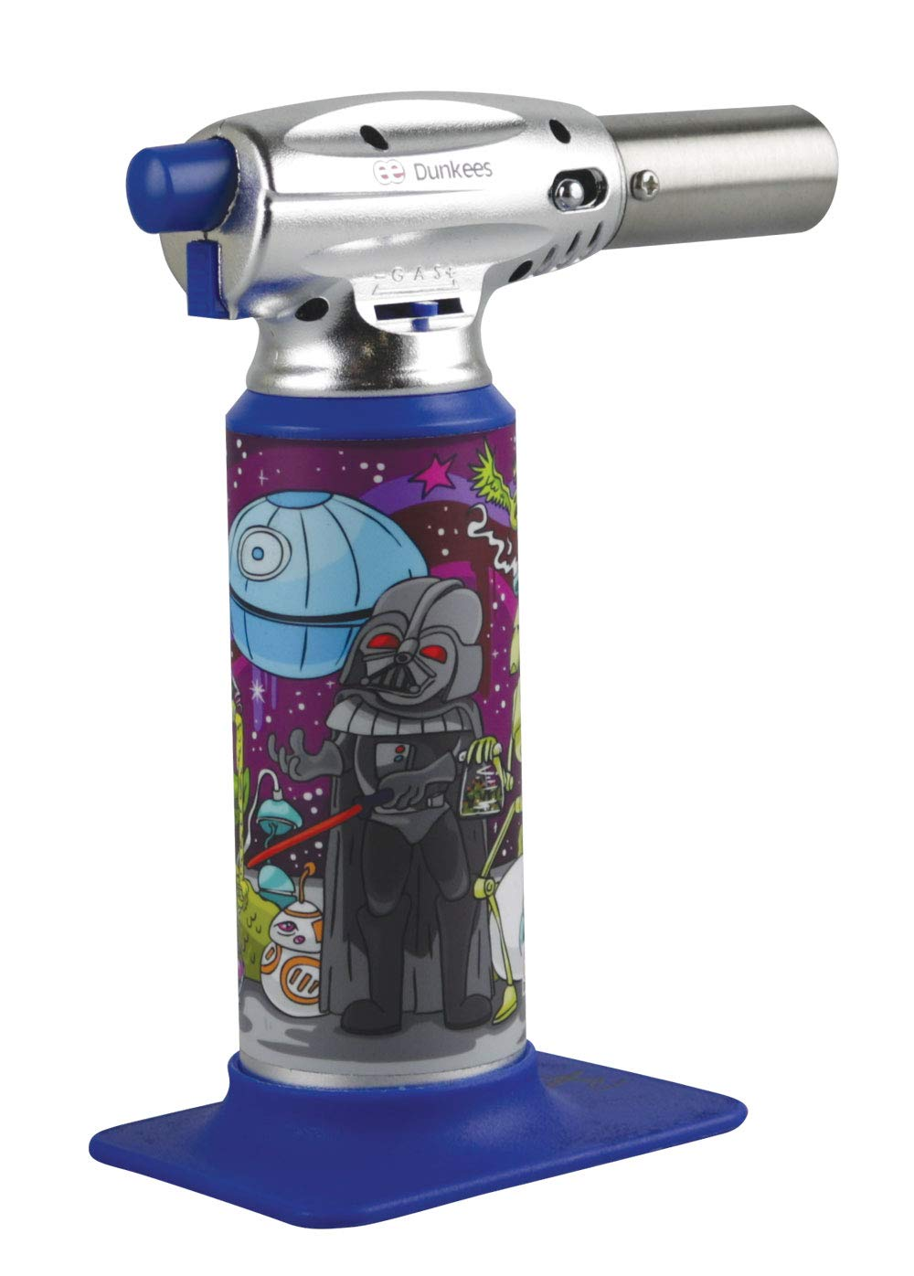 Dunkees Butane Torch Lighter - 7'' / Assorted Colors & Designs (Dab Wars) by Custom Torches (Image #3)