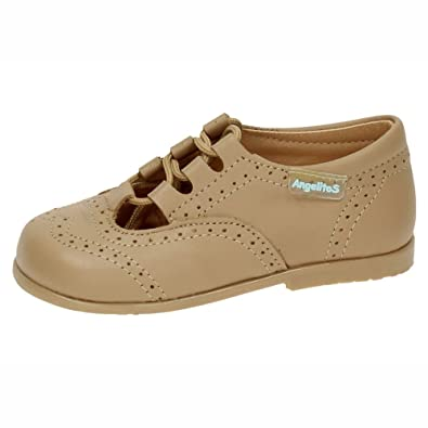 ANGELITOS 504 Mocasines INGLESITOS NIÑO Zapatos MOCASÍN Camel 18