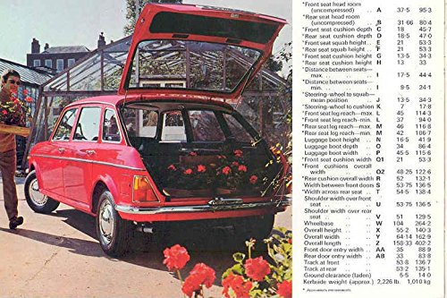 Amazon.com: 1972 Austin Maxi 1750 1500 Sales Brochure RHD: Entertainment Collectibles