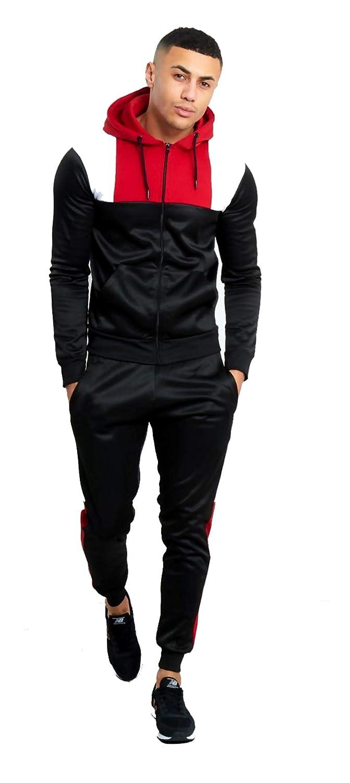 MyMixTrendz/® Conjunto de Pantalones de poli/éster con Capucha para Hombre