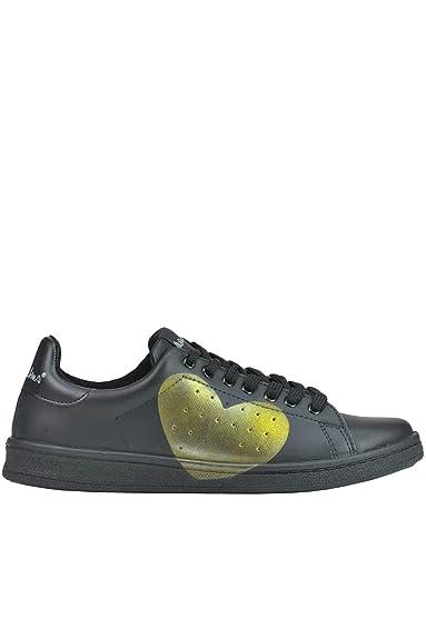 Damen Mcglcak03065e Schwarz Leder Sneakers Nira Rubens WRRHLJ