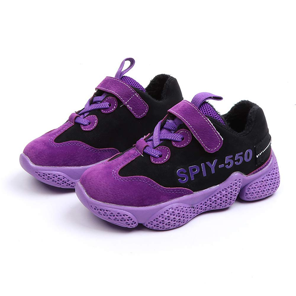 IINFINE Kids Lightweight Breathable Walking Running Tennis Shoes for Boys and Girls